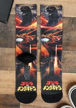 Godzilla Men's Sublimated Socks Main