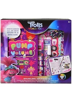 Trolls 2 Sparkling Journal Set