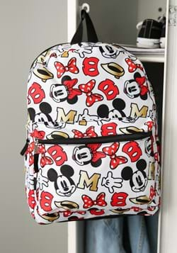Minnie All Over Print 16 Inch Backpack Main UPD