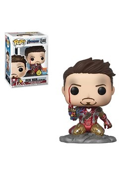 Funko POP I Am Iron Man Avengers Endgame PX Exclusive