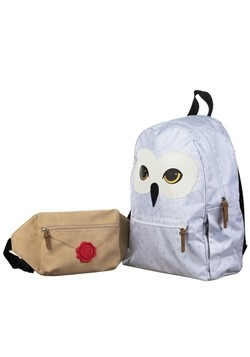 Harry Potter Hedwig Backpack with Removable Fanny Pack Alt 3