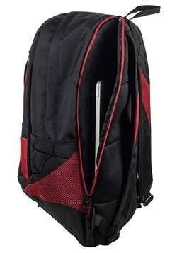 Spiderman Black and Red Laptop Backpack Alt 3