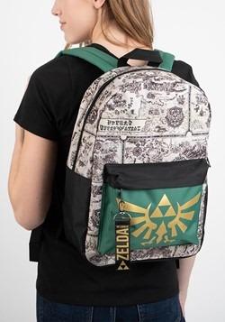 Zelda Map Mixblock Backpack Alt 2