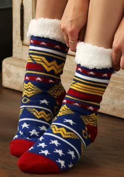 Wonder Woman Cozy Slipper Sock