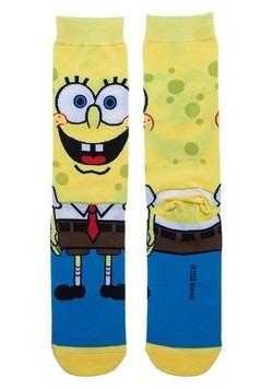 Spongebob 360 Charcter Crew Sock Alt 1