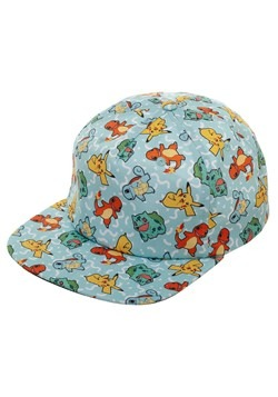 Pokemon All Over Character Snapback
