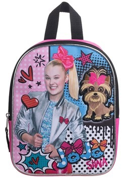 "Jojo Siwa 10"" Plush Kids Backpack"