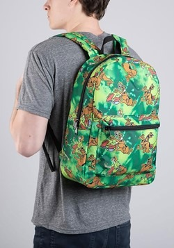 Scooby Doo All Over Print Sublimated Backpack Alt 1