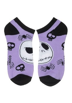 Nightmare Before Christmas 5 Pair Ankle Pack Alt 3
