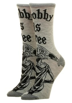 Harry Potter Dobby Crew Socks