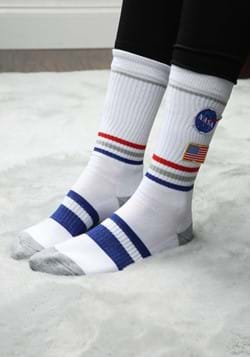 NASA Patch Crew Sock