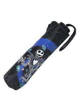 Jack Skellington Snowflake Color-Changing Umbrella Alt 1