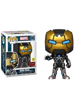 Iron Man Model 39 Glow-in-the-Dark Pop! Vinyl Figure - Exclu