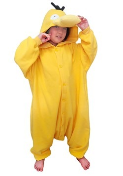 Pokemon Psyduck Child's Kigurumi