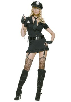 Women's Dirty Cop Costume