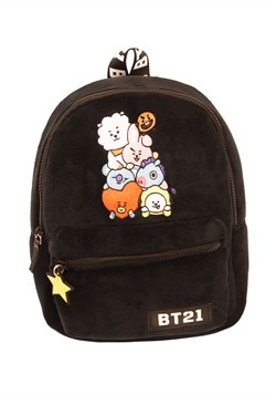 BT21 Group Emblem Mini Backpack