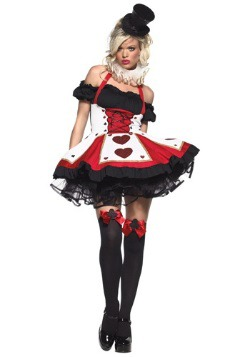 Peasant Top Queen of Hearts Costume For Women