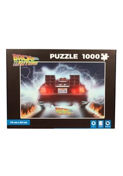 Back to The Future Delorean 1000 Piece Puzzle