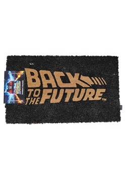Back to the Future Delorean Doormat