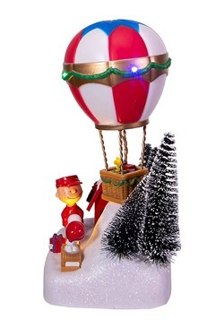 Peanuts Animated Musical Hot Air Balloon Tablepiece Alt 2