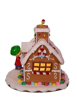 Peanuts Gingerbread House Tablepiece Alt 4