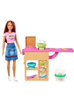 Barbie Noodle Bar Red Head