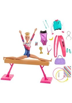 Barbie Gymnastics Playset