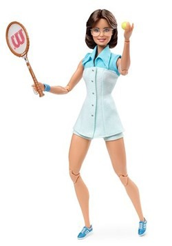 Inspiring Women Barbie Billie Jean King Doll