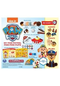 My Paw Patrol Pom-Pom Pups Craft Kit Alt 1