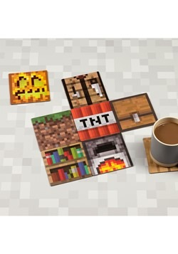 Minecraft Block Coasters Alt 1
