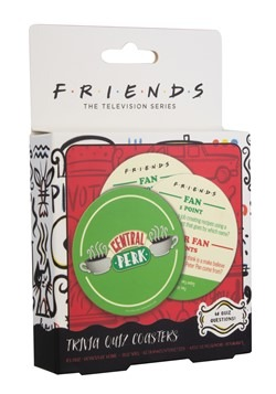 Friends Central Perk Trivia Quiz Coasters