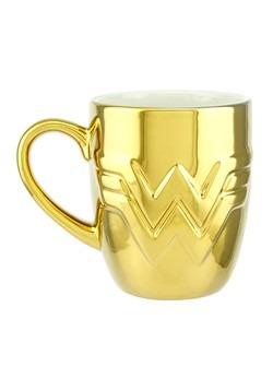 Wonder Woman 1984 Gold Logo Mug