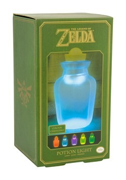 Legend of Zelda Potion Jar Light