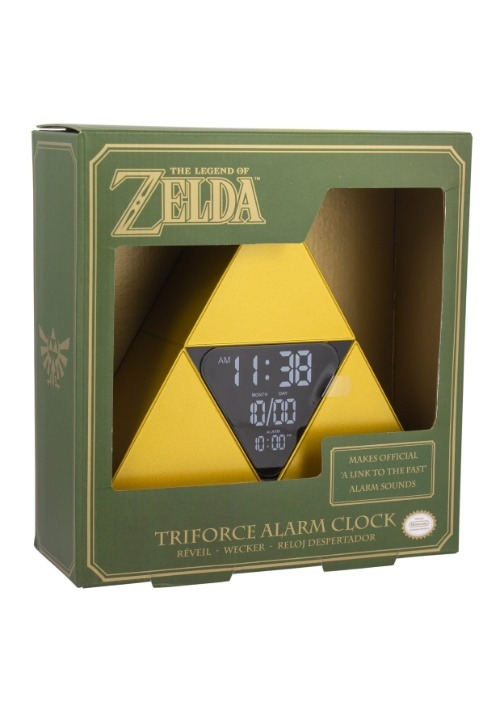 Legend of Zelda Tr-Force Alarm Clock