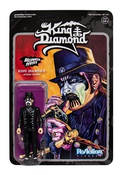 King Diamond Reaction Figure - Top Hat Version