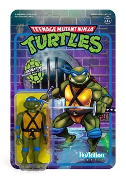Reaction TMNT Leonardo Action Figure