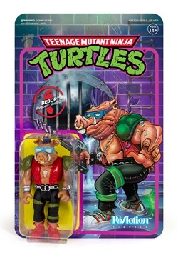 Reaction TMNT Bebop Action Figure