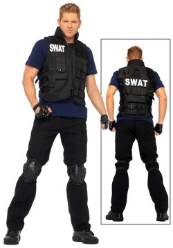 Men's SWAT Team Costume