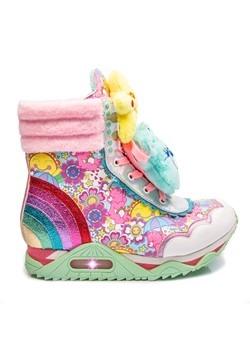 Irregular Choice Care Bears Born to Care Platform Sneakers3