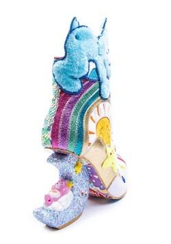 Irregular Choice Care Bears I Like Sleep Molded Heel Boots3