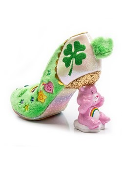Irregular Choice Care Bears Grin & Share It GreenBlue Heels3
