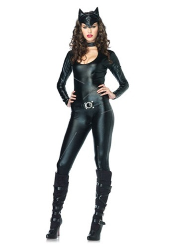 Sexy Feline Catsuit Women's Costume
