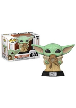 POP Star Wars:Mandalorian- The Child w/Frog