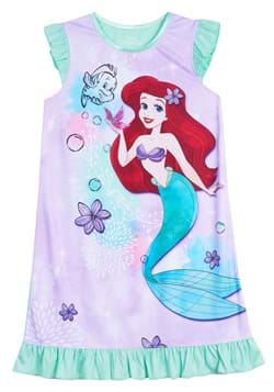 Girls Disney Ariel Dorm Nightgown