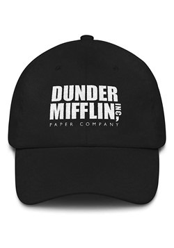 Dunder Mifflin Hat Black