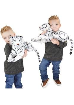 Saphed the White Tiger Animal Plush Alt 1