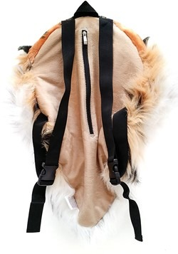 Orange Bengal Tiger Animal Head Backpack and Wall  Alt 3