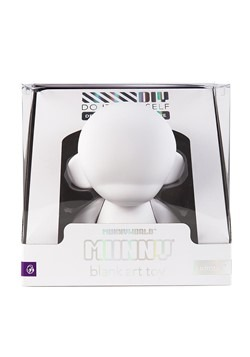 "7"" MunnyWorld Munny Blank Art Toy Alt 2"