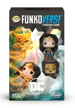 Pop! Funkoverse: DC 102 Wonder Woman- Expandalone