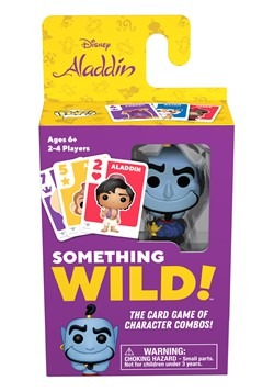 Signature Games: Something Wild Card Game - Aladdin